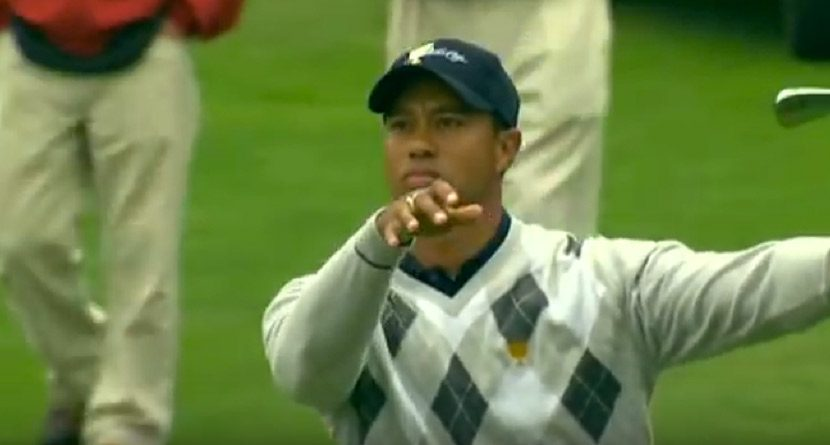 Tiger Woods' Greatest Gift Is Currently Playing On The PGA Tour