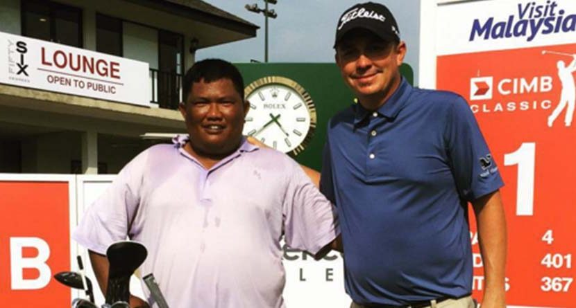 Jason Dufner Puts Jumbo Back On The Bag At CIMB Classic