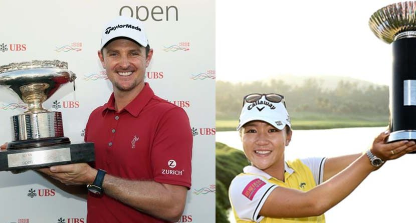 Justin Rose and Lydia Ko Pick Up Wins in Asia