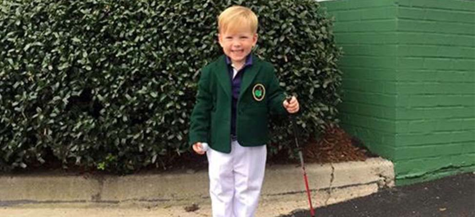 Little Jordan Spieth Already Won Halloween Costume of the Year
