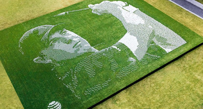 24,000 Golf Balls Combine to Make Jordan Spieth