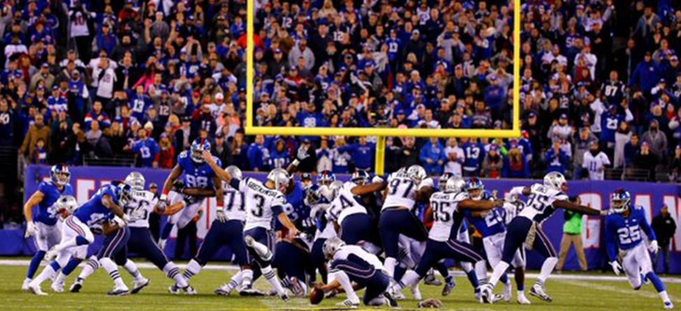 New England Patriots Kicker Stephen Gostkowski Compares Field Goal Kicking to Golf
