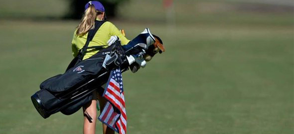 Girl Plays Golf to Connect With Father Killed in Action