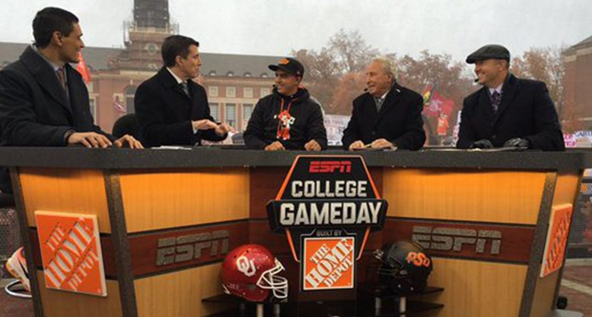 Rickie Fowler Joins ESPN's College GameDay As Guest Picker