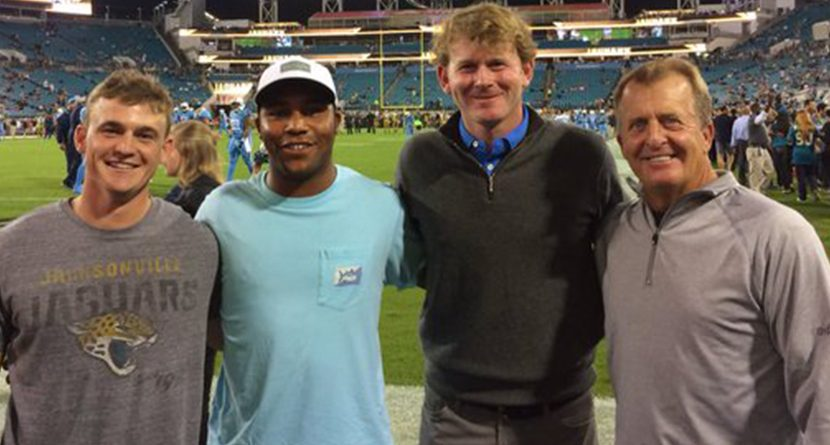 PGA Tour Players Hit Shots Onto Field During NFL Halftime