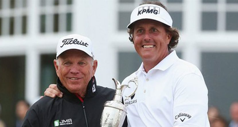 Phil Mickelson Drops Swing Coach Butch Harmon