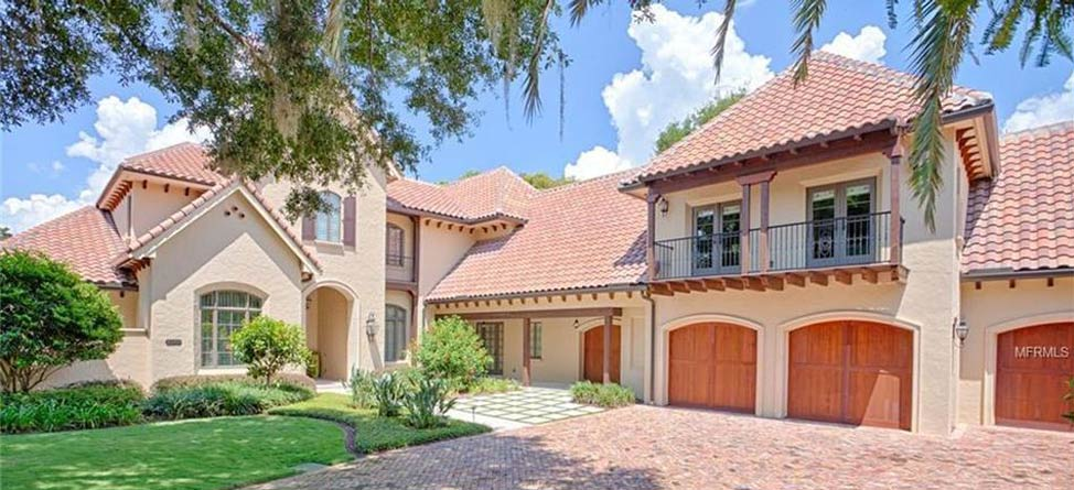 Bubba Watson Lists Mansion Previously Owned By Tiger Woods