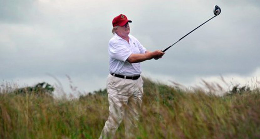 Trump Compares Spieth To Romney