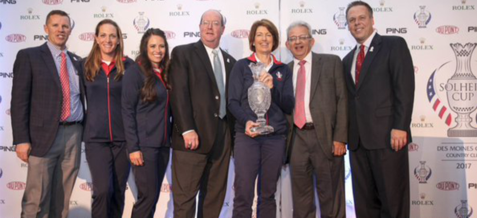 Juli Inkster To Return In 2017 As Solheim Cup Captain