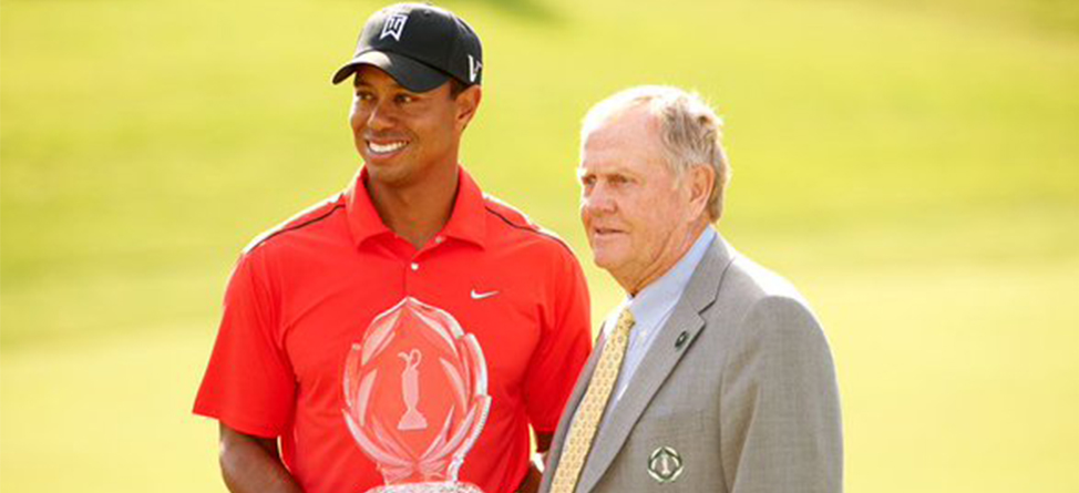 Tiger Woods Writes Letter Congratulating Jack Nicklaus On Muhammad Ali Legacy Award