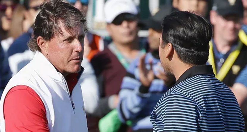 Jason Day Would Have To Give Phil Mickelson Two Strokes Per Side