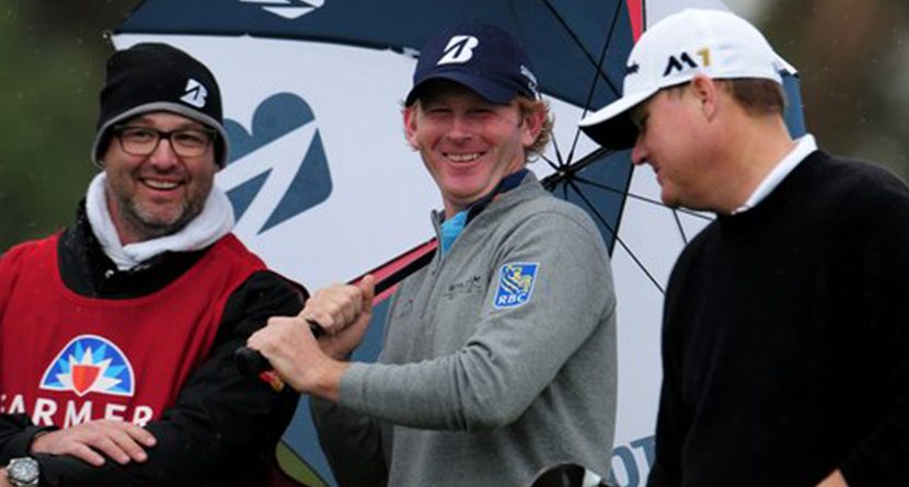 Brandt Snedeker Leads In The Clubhouse At Weather-Suspended Farmers Insurance Open