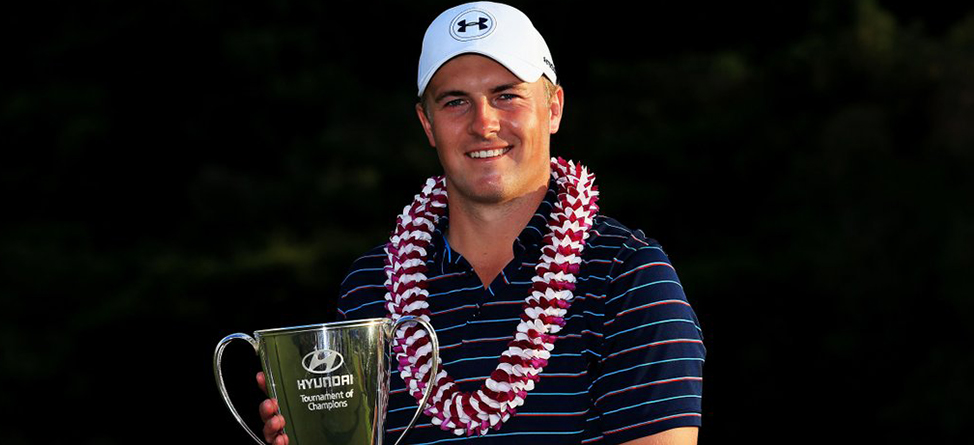 Jordan Spieth Picks Up Where He Left Off, Wins Hyundai Tournament Of Champions