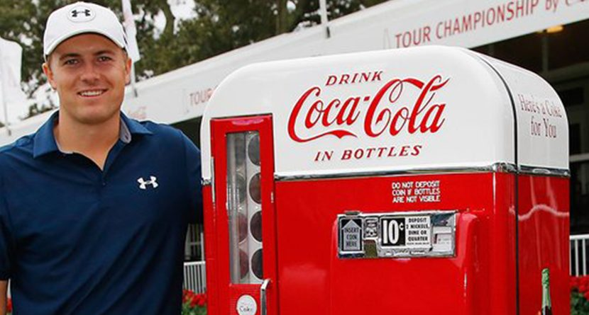 Jordan Spieth Signs Endorsement Contract With Coca-Cola