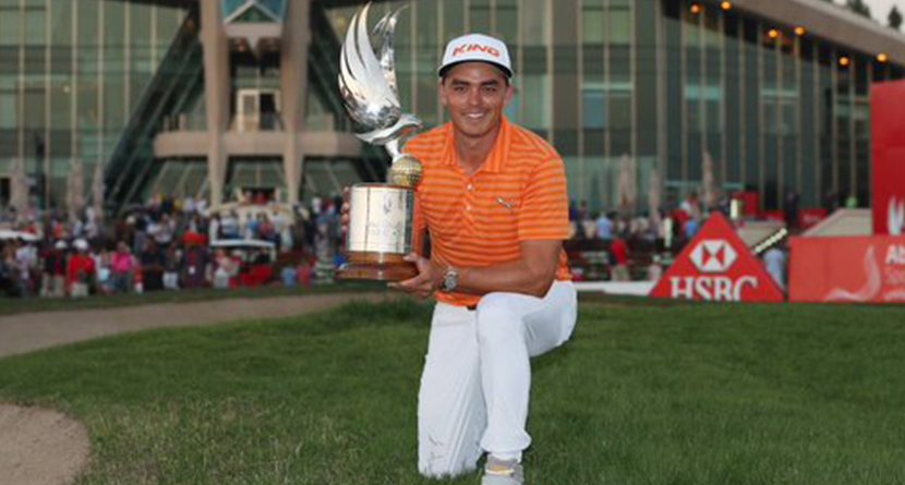 Rickie Fowler Wins The Abu Dhabi HSBC Golf Championship