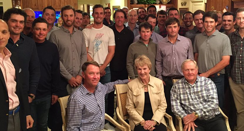 Can You Name Everyone At Jack Nicklaus' Ryder Cup Dinner?