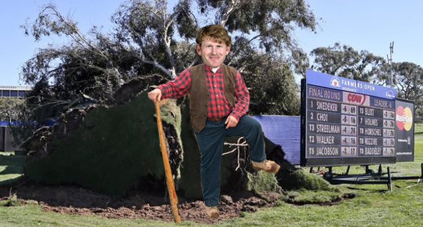 Snedeker Escapes Falling Trees To Win At Torrey Pines (Photos)