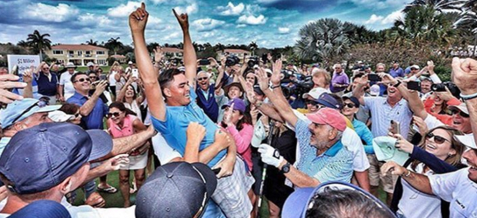 Rickie Fowler Makes $1 Million Hole-In-One