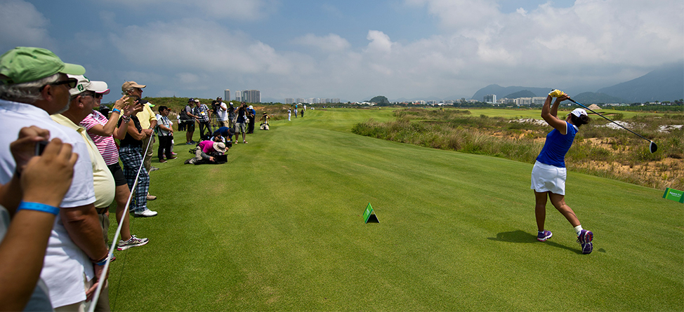 Olympic Golf Test Event Shows Off Course