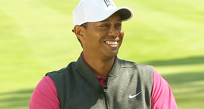 Tiger Woods Gives Update & Witnesses Kid's Hole-In-One