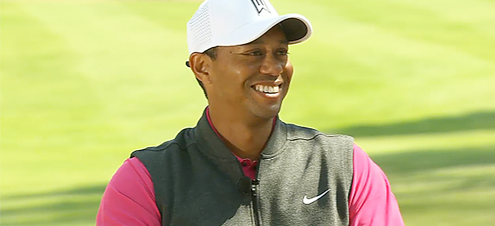 Report: Tiger Woods Practicing 4-5 Hours Per Day