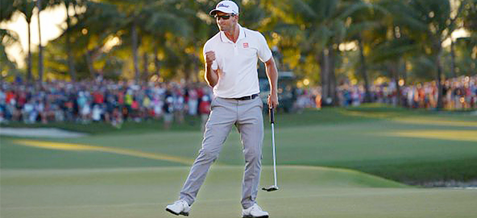 Tools Of The Trade: Adam Scott's Winning Clubs At The WGC-Cadillac Championship