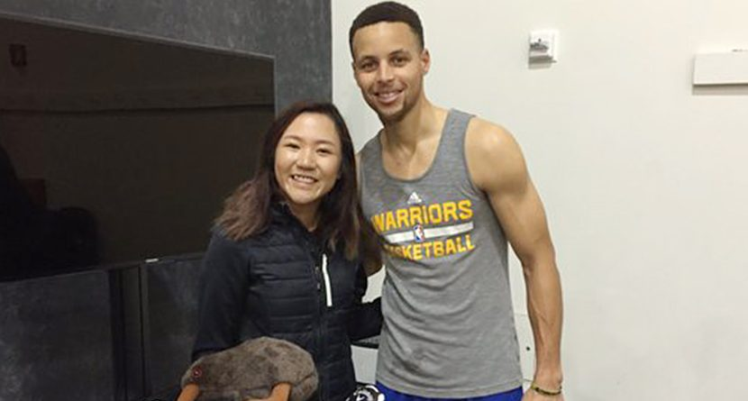Golden State Warriors Stars Play Golf During Practice