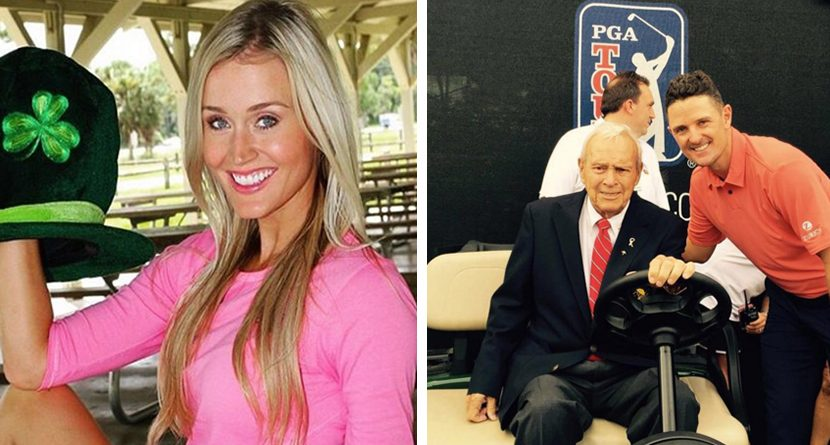 Golf Social: PGA Tour Honors Palmer, Pros Celebrate St. Patrick's Day