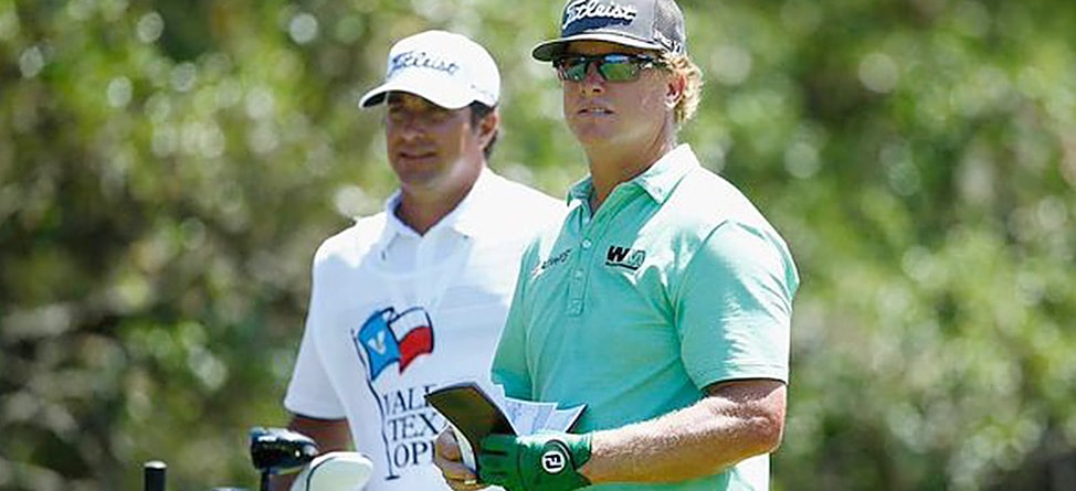 Charley Hoffman Holds Clubhouse Lead At Rain-Soaked Valero