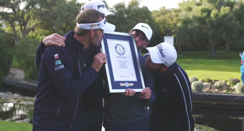 European Tour Players Set World Record
