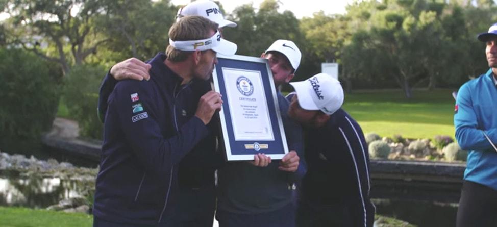 European Tour Players Set World Record