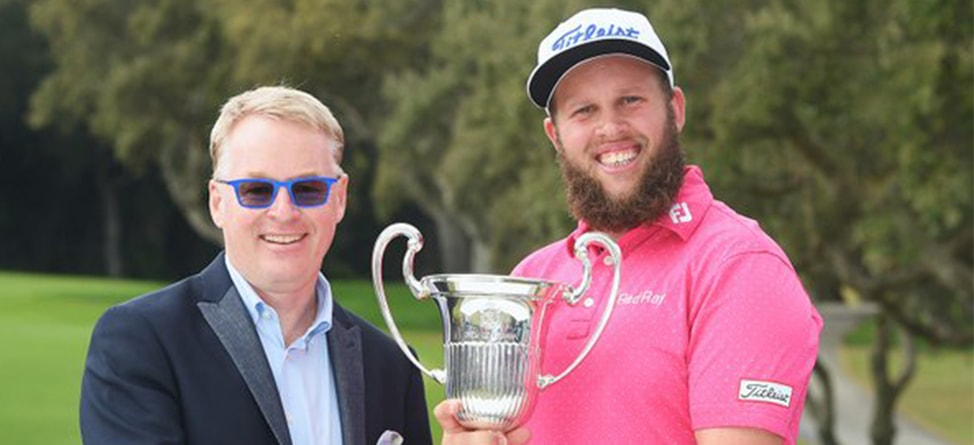 Euro Tour Player Wants To 'Get Hammered' After First Win