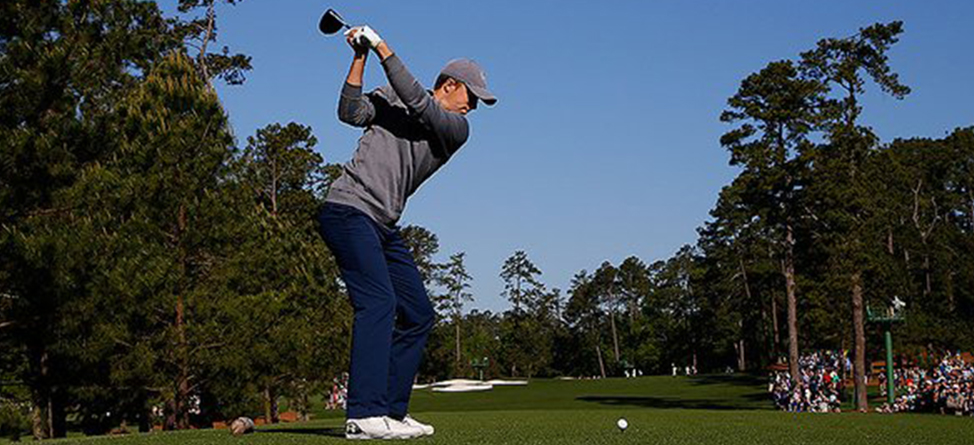 Jordan Spieth Cracks His Driver The Day Before The Masters
