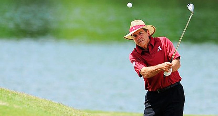 Nick Saban: Golf Is A Metaphor For Life