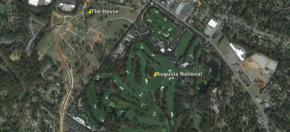 The House Augusta National Cant Buy