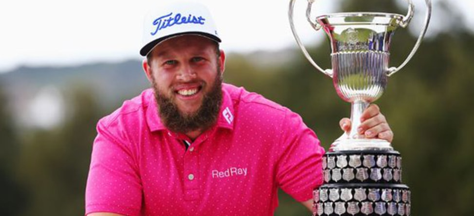 Andrew 'Beef' Johnston True To His Word, Gets Hammered