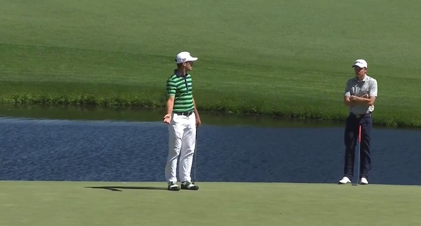 Billy Horschel Gets A Terrible Break At The Masters