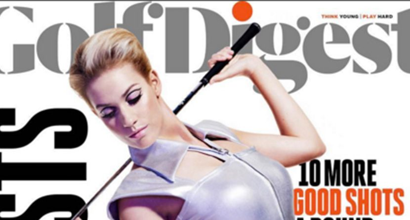 Golf Digest Cover Model Rubs Some LPGAers Wrong