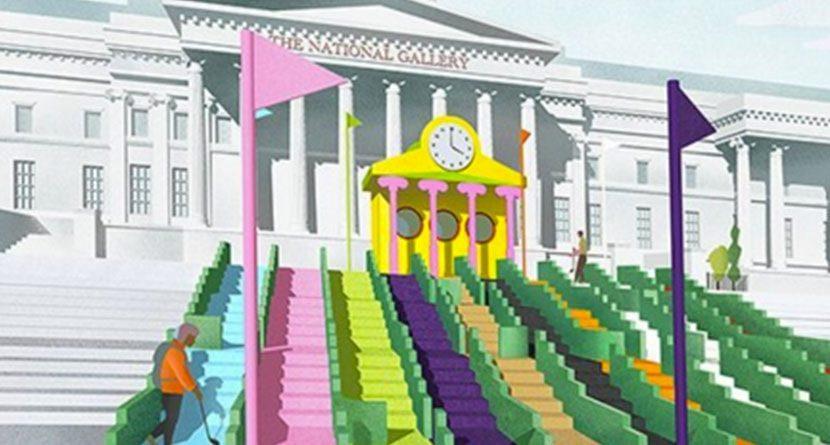 Trafalgar Square To Be Transformed Into Miniature Golf Course