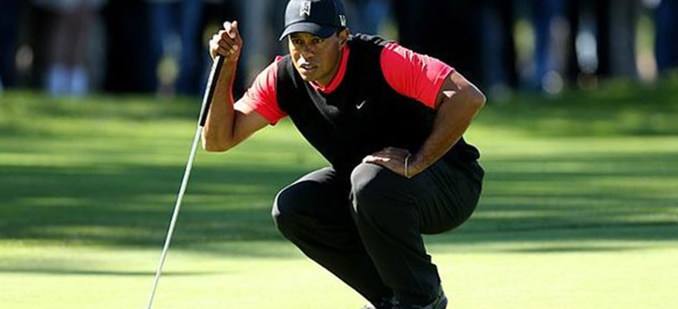 Tiger Registers For U.S. Open, Plays Holes At Exhibition