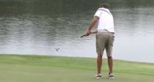 College Golfer Makes Monster Birdie Putt