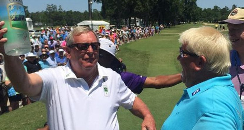 Fuzzy Zoeller Pays Up On His 'John Daly At 50' Bet