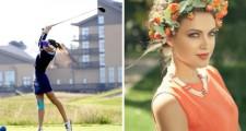 Photos: Golf Beauty Galia Zagorodnia