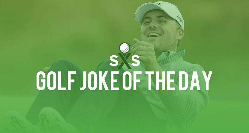 Golf Joke Of The Day: Tuesday, November 8th