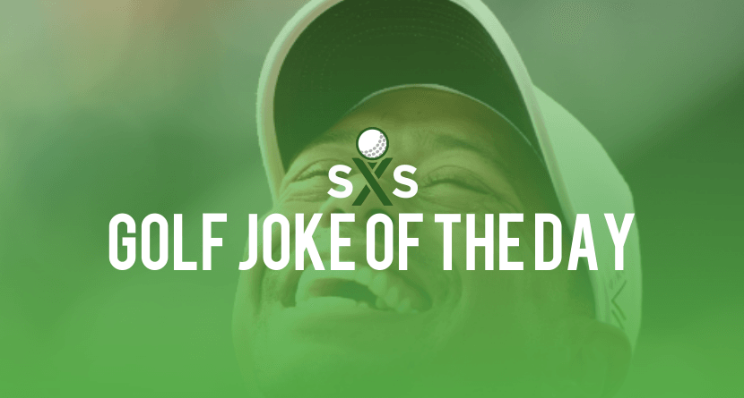 Golf Joke Of The Day: Tuesday, October 11th
