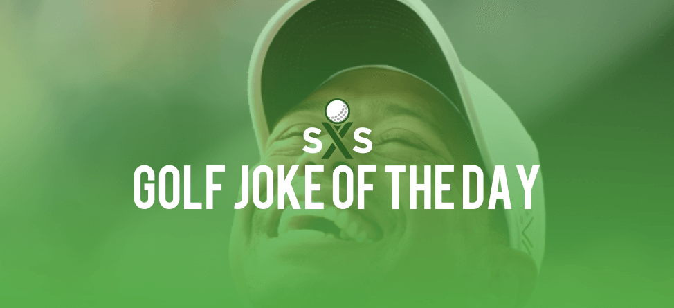 Golf Joke Of The Day: Monday, October 24th