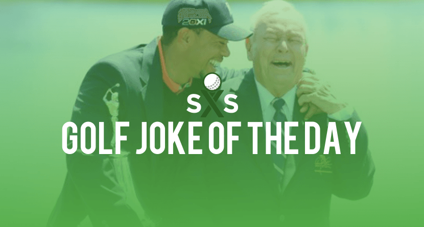 Golf Joke Of The Day: Wednesday, May 4th