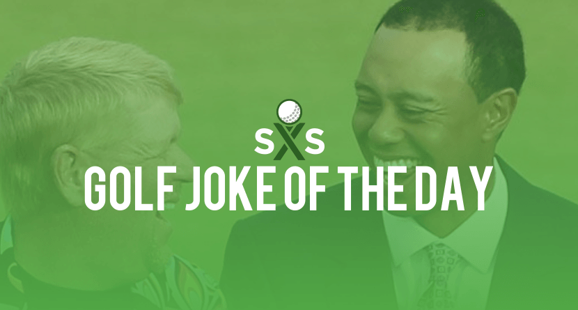 Golf Joke Of The Day: Monday, August 8th