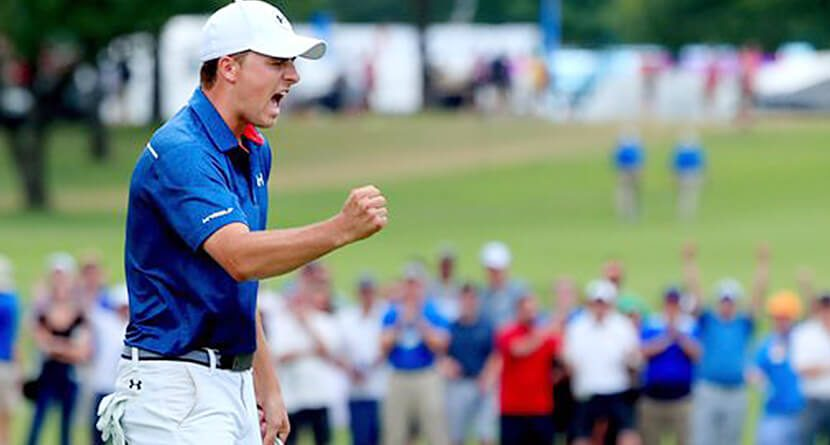 Jordan Spieth Torches Back Nine At Colonial For First Texas Win