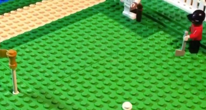 Tiger Woods' Chip From the 2005 Masters Gets Lego Stop-Motion Treatment